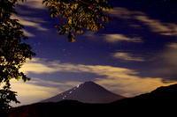 30年9月の富士(4)河口湖の薄雲と富士 - 富士への散歩道 ~撮影記~