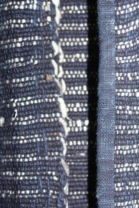 古布木綿紙縒り庄内野良着Japanese Antique Textile Shonai Koyori-paper Noragi - 京都から古布のご紹介