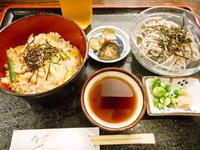 京都市 黒胡麻素麺?セット 漬物割烹 ふく井 - 転勤日記