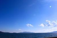 海風。 - 青い海と空を追いかけて。