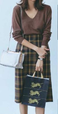 チェックの着こなし術を見る(◍•◡•◍)♡♬ - サロン・ド・ブロッサム(パーソナルカラー診断&骨格スタイル分析、ファッションセラピーin広島)
