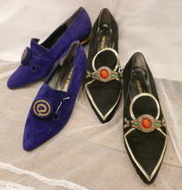 Suede flat shoes - carboots
