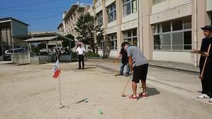 青谷体振グラウンドゴルフ大会 -