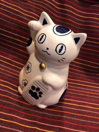 フェリシモ猫部「招き猫」 - ■山野りんりんの近況ブログ