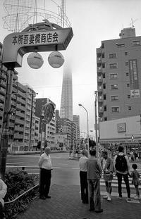 空模様 と 写真展のお知らせ - そぞろ歩きの記憶