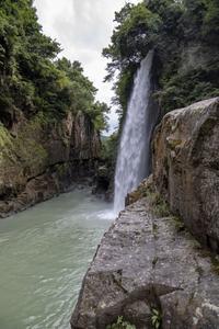 綿ヶ滝 - 晴れ時々そよ風