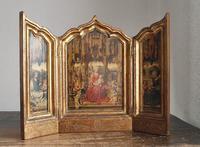 聖母マリア マルバーニャの三連祭壇画   / F625 - Glicinia 古道具店