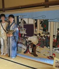 浮世絵きると展 〜布と糸で紡ぐ江戸風情〜 - 散歩道