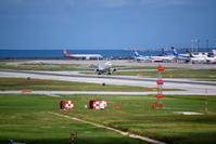 AMURO JETの離陸 - 南の島の飛行機日記