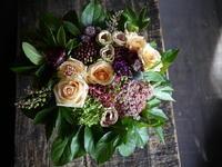 敬老の日にお祖母様へのアレンジメント。2018/09/16。 - 札幌 花屋 meLL flowers