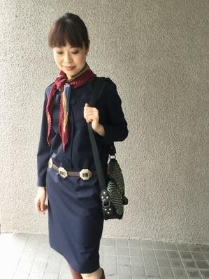 「Navyワンピース」どう着る?着画編 - madameHのバラ色の人生