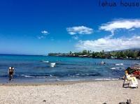 カハルウビーチでシュノーケル   ハワイ島コハラ滞在記 2018.9 - Hawaiian LomiLomi ハワイのおうち 華(レフア)邸