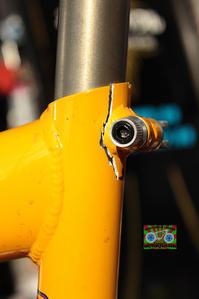 アルミフレームの修理 - みやたサイクル自転車屋日記
