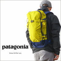 patagonia [パタゴニア正規代理店] SNOW DRIFTER 20L[48190] スノードリフター 20L/デイパック、リュックサック MEN'S/LADY'S - refalt blog