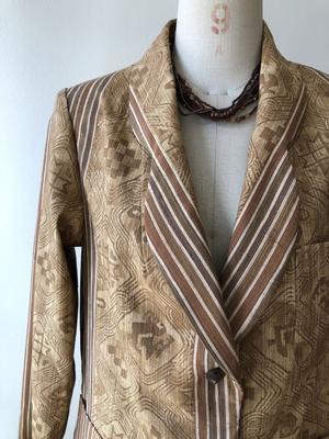 着物リメイク・着物からジャケット - harico couture