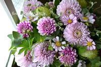 49日に贈るお供えフラワーアレンジメント。 - 花色~あなたの好きなお花屋さんになりたい~