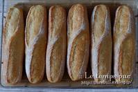 """""""バインミー"""" にピッタリな『米粉入り:ソフトフランス』焼けました♪ - Le temps pur  - ル・タン・ピュール  -"""