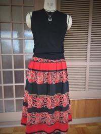 ウールプリントのスカート - てんねん生活 ARAKOKI