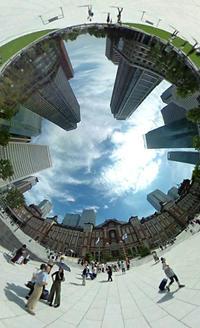 シータde東京散歩4 東京駅周辺 - デジカメ持ってING