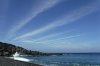 秋の海 - 三宅島風景