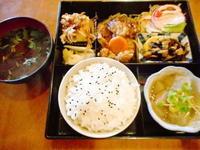 京都市 月曜のサービス弁当 かさぶらんか - 転勤日記