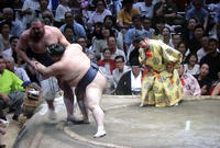 稀勢の里7勝目大相撲秋場所 - 東金、折々の風景