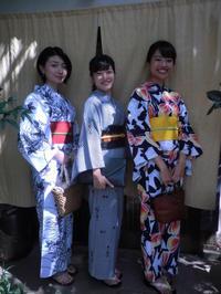 スッキリ爽やかな浴衣姿でお出かけに。 - 京都嵐山 着物レンタル&着付け「遊月」