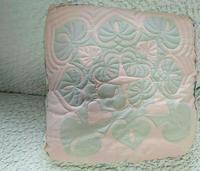 クッション作成中〜 - ほっと一息・・~Sakura's Hawaiian QuiltⅡ