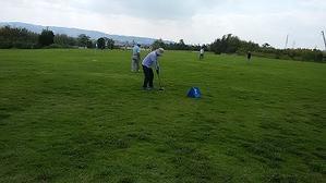 3クラブ交流グラウンドゴルフ練習 -