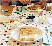 Wソフト風食パンで朝ごパンといきなりステーキ♪ - ☆Happy time☆