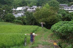 明日香村案山子 - ぶらり記録:2 奈良・大阪・・・