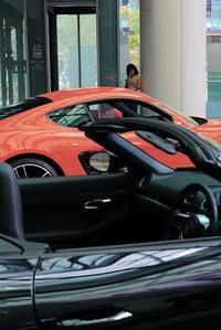 ルージュカラーの車 - 美は観る者の眼の中にある