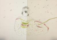 祇園祭礼信仰記「金閣寺」秀山祭九月大歌舞伎 - 『一日一畫』 日本画家池上紘子