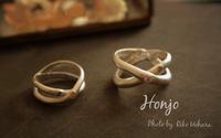 アートクレイシルバー 自宅レッスン 結婚指輪を作りにお越しくださいました♡ - Silver clay Ru*  手軽にできるシルバーアクセサリー