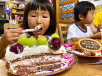 誕生日パーティー第二弾 - Kiki日記・結婚式カメラマンの子育てブログ