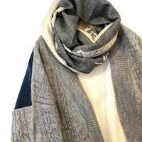 CYNICAL カットデニムドッキングニットカーディガン - SCARECROW スタッフ日記