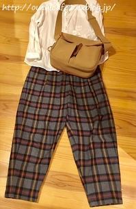 【秋ファッション】ボトムスも追加投入で一気に秋コーデ!&投入したら手放す季節の変わり目の服の断捨離 - 暮らしの美学