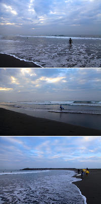 2018/09/18(TUE) 雨上がりの海に少しウネリが残る。 - SURF RESEARCH