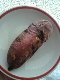 焼きイモ(紅天使)  - 台所の窓から