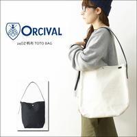ORCIVAL[オーチバル・オーシバル] 24OZ 帆布 TOTO BAG [RC-7155 HVC] レザーハンドルショルダーバッグ MEN'S/LADY'S - refalt