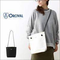 ORCIVAL[オーチバル・オーシバル] CHAMBRAY 帆布 TOTO BAG [RC-7156 HVC] レザーハンドルショルダーバッグ MEN'S/LADY'S - refalt