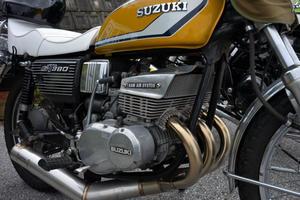 懐かしいバイク -