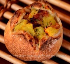 パンを楽しむ会ときのこ -