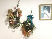 週末はフラワーアレンジレッスン - coco diary 山口県 お花と絵と楽しいティータイム
