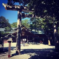 family☆御朱印巡り-猿田彦神社 - SORANKO