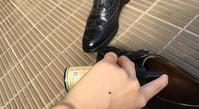 帰宅後の日課 - シューケア靴磨き工房 ルクアイーレ イセタンメンズスタイル <紳士靴・婦人靴のケア&修理>