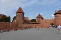 少し南下しただけで、気温が上昇しています。午後は世界遺産マルボルク城を見学します! - せっかく行く海外旅行のために