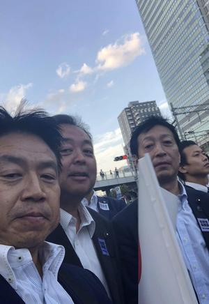 18.09.19(水) 自民総裁選・安倍晋三最終演説会 in 秋葉原 - たきた敏幸日記