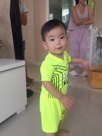 健翔はサッカー少年 - 65歳お父さん、バンコク子育て日記