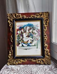 木製額807Hold(Aiza9.18) - スペイン・バルセロナ・アンティーク gyu's shop